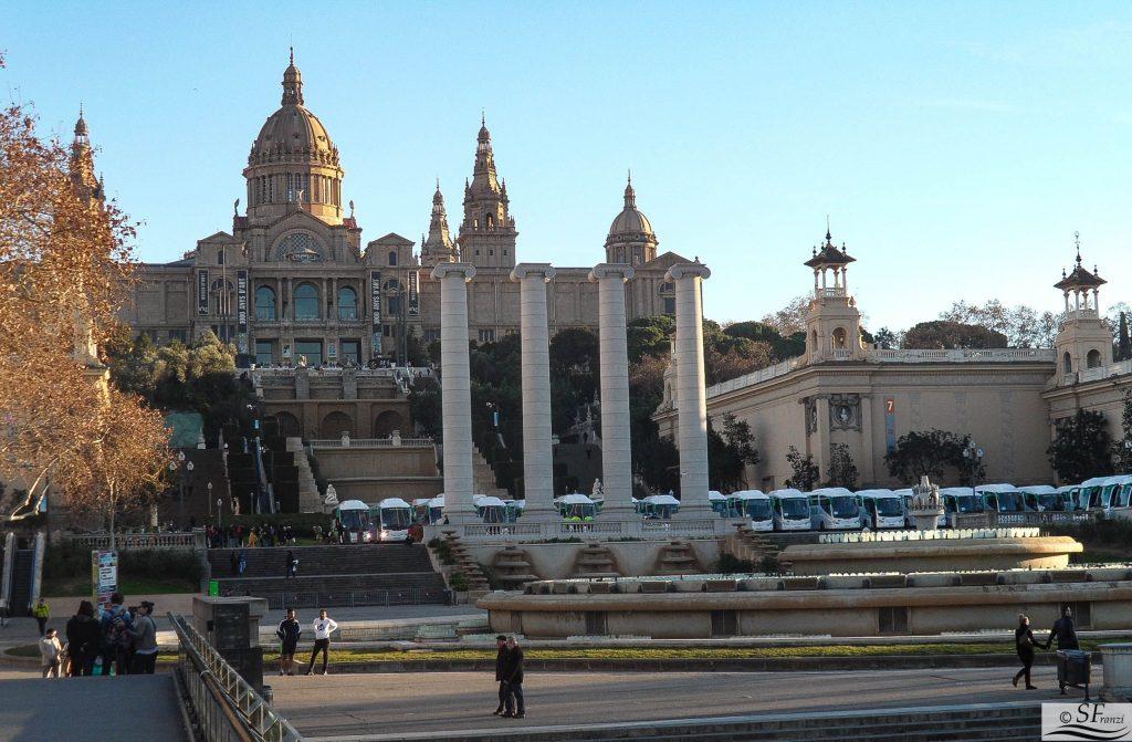 Barcellona Palazzo Nazionale di Montjuic