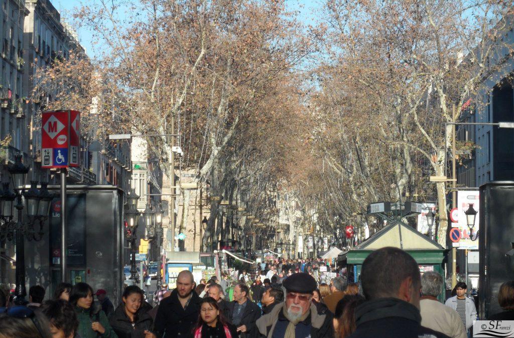 Ramblas Barcellona