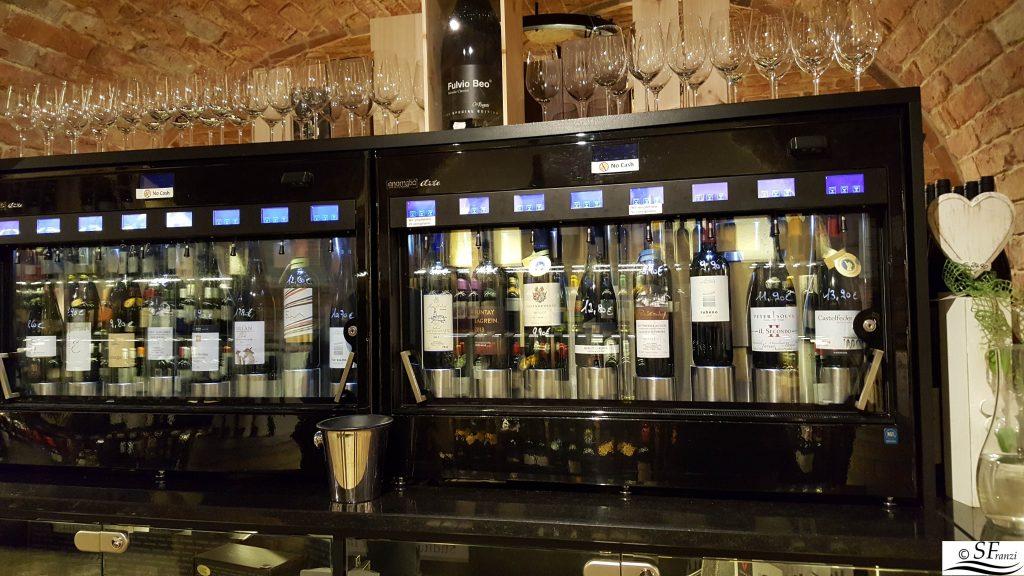 distributore di vino