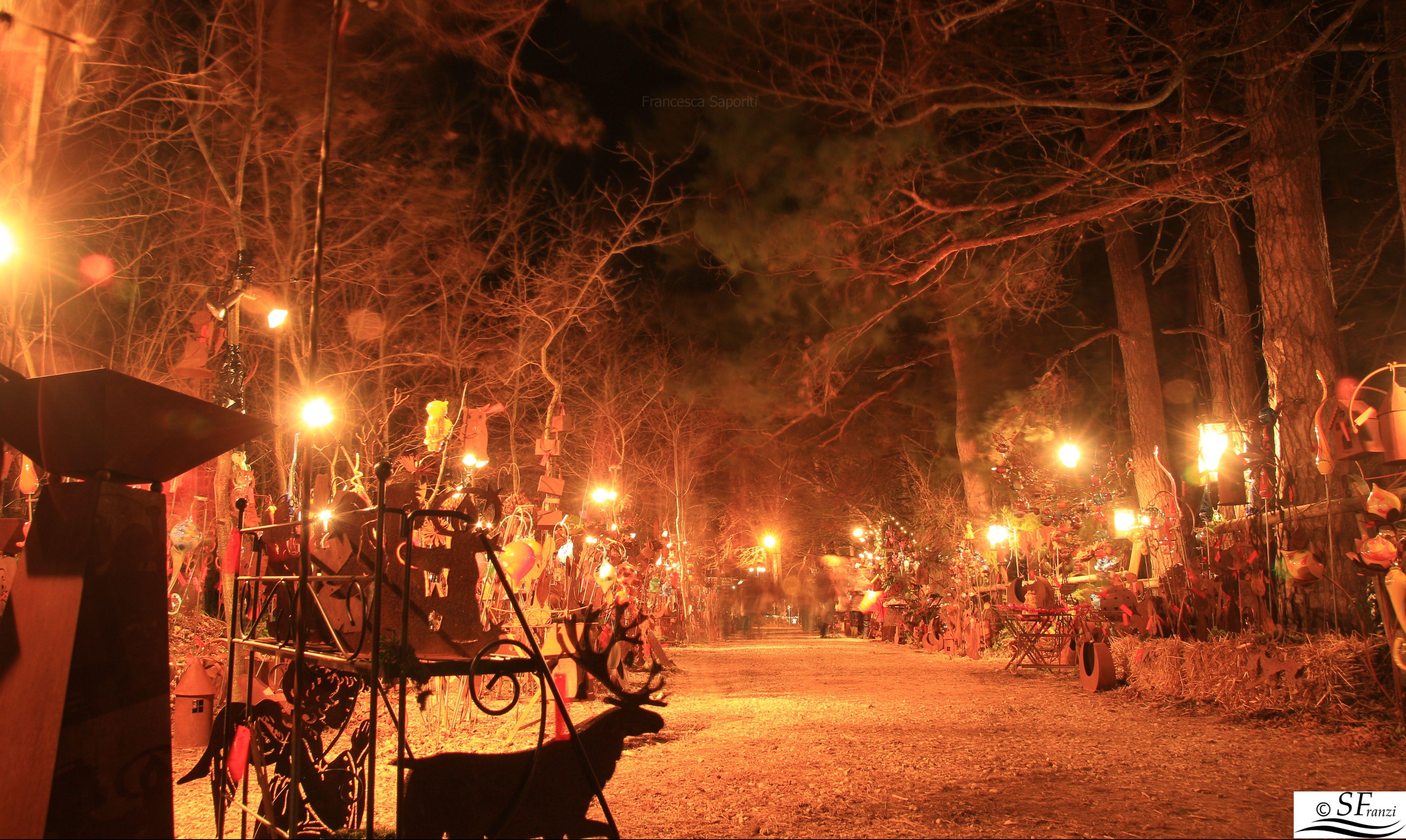 Halsbach mercatino di natale nel bosco