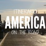 itinerario in america on the road