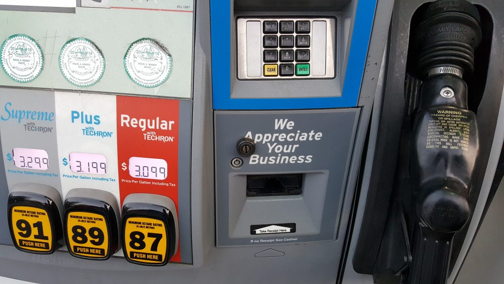 benzina a san francisco