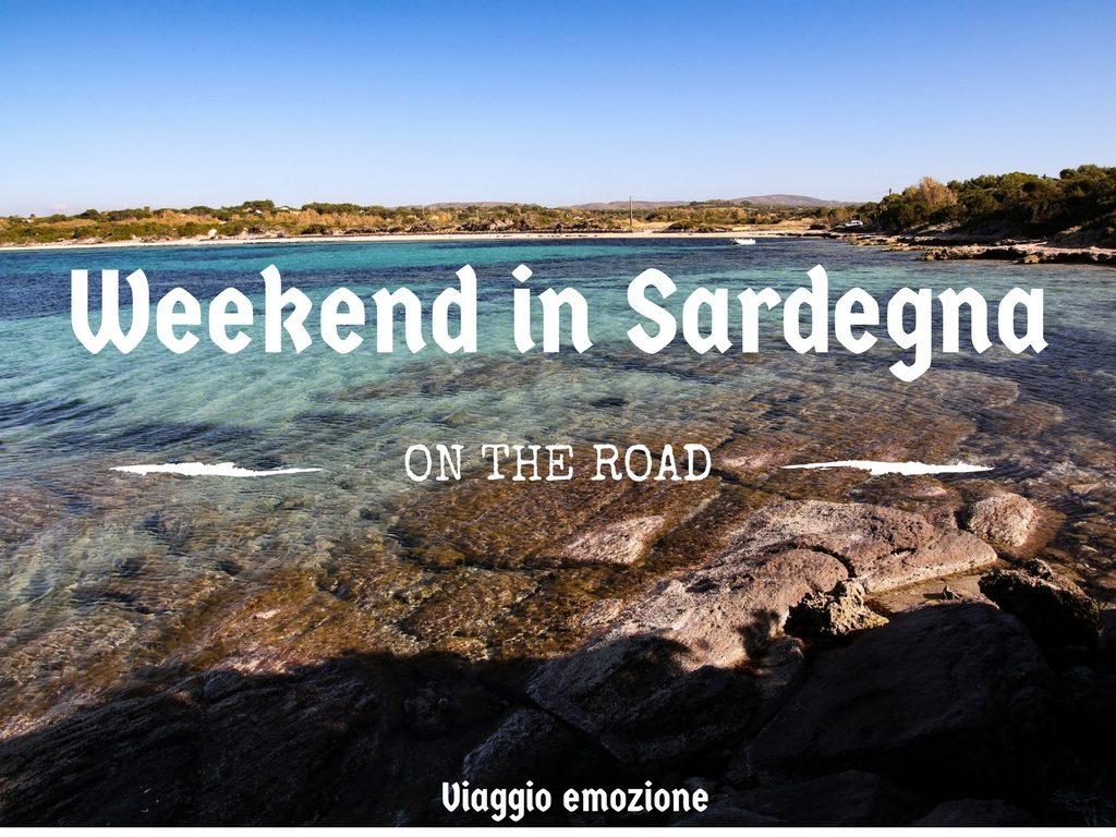 weekend in sardegna