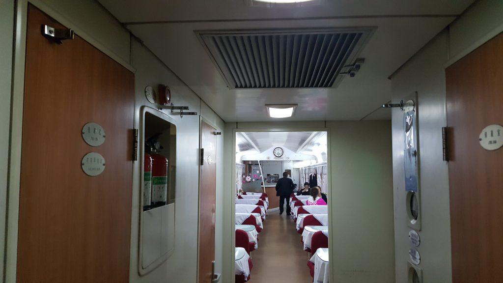 cabina ristorante in treno