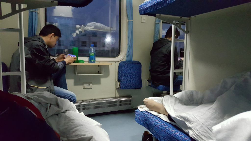 Letti rigidi treni in cina