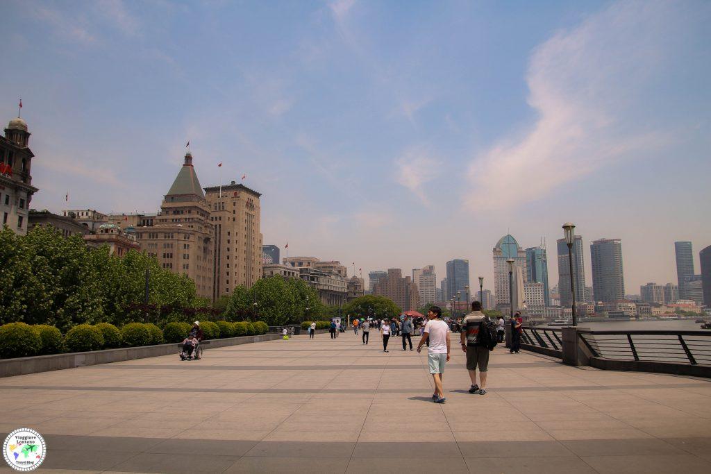 Cina a basso costo, shanghai itinerario
