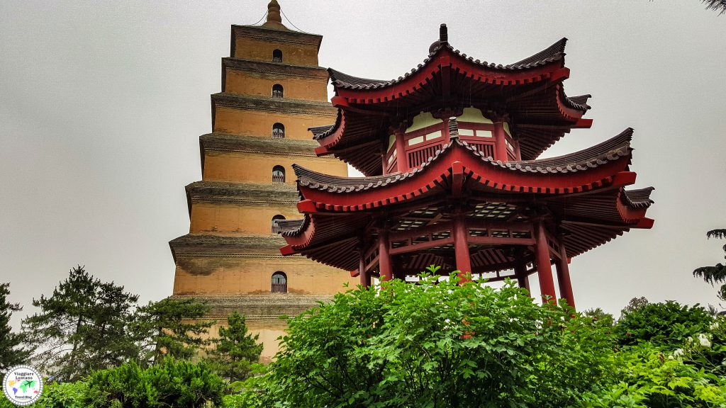 Xi'An grande pagoda