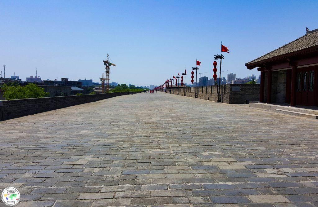 Xi'an mura in bici