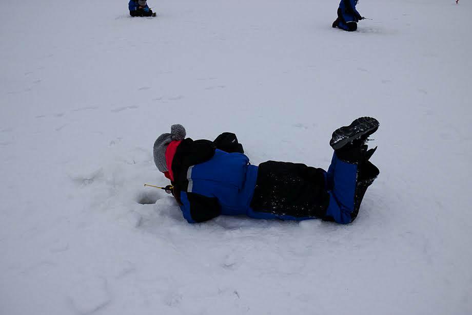 pesca nel ghiaccio cosa fare in lapponia