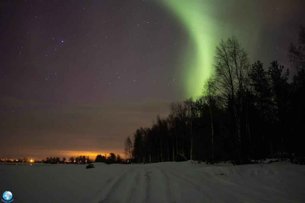 aurora viaggio in lapponia