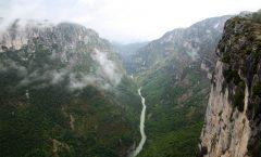 itinerario in auto canyon du verdon