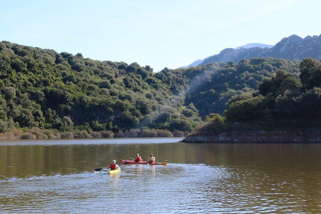 kayak sul fiume cedrino